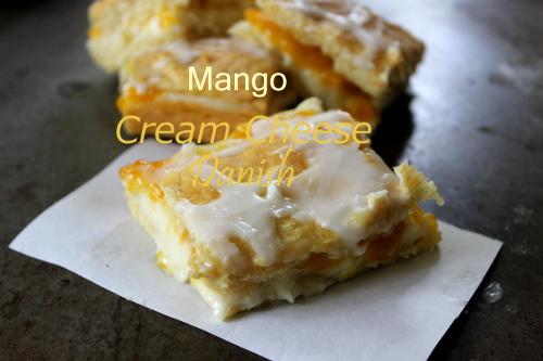 Mango Cream Cheese Danish