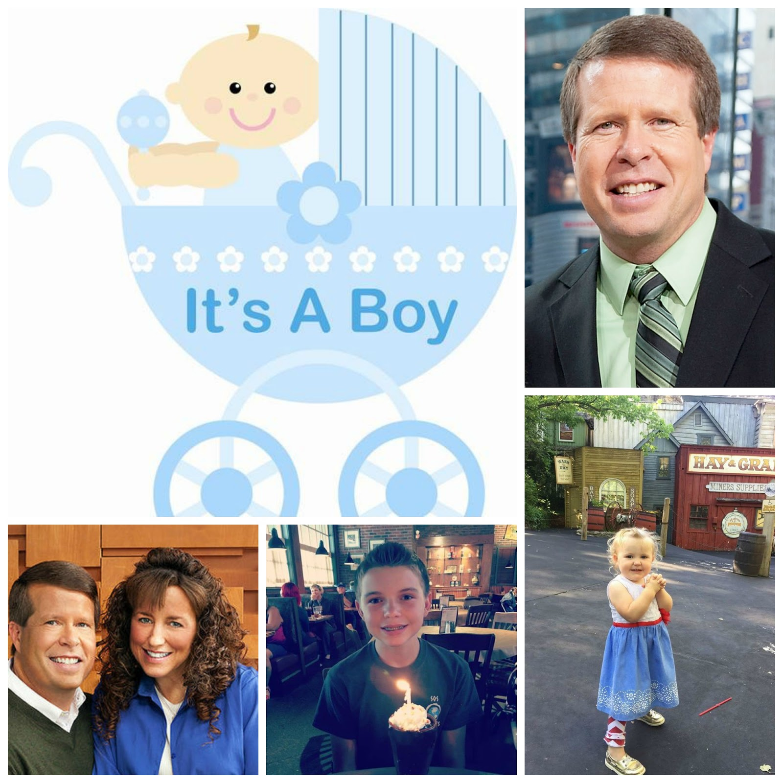 The Duggar Family Blog: July Birthday/anniversary Cover