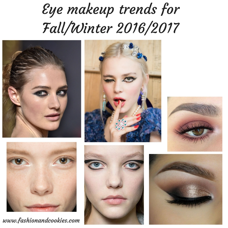 Eye makeup trends for Fall/Winter 2016/2017 on Fashion and Cookies beauty blog, beauty blogger
