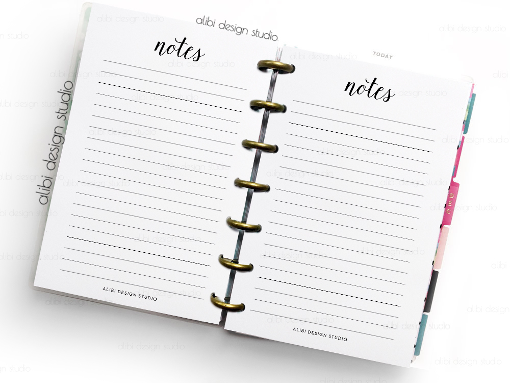 Dramatic image pertaining to free mini happy planner printable inserts