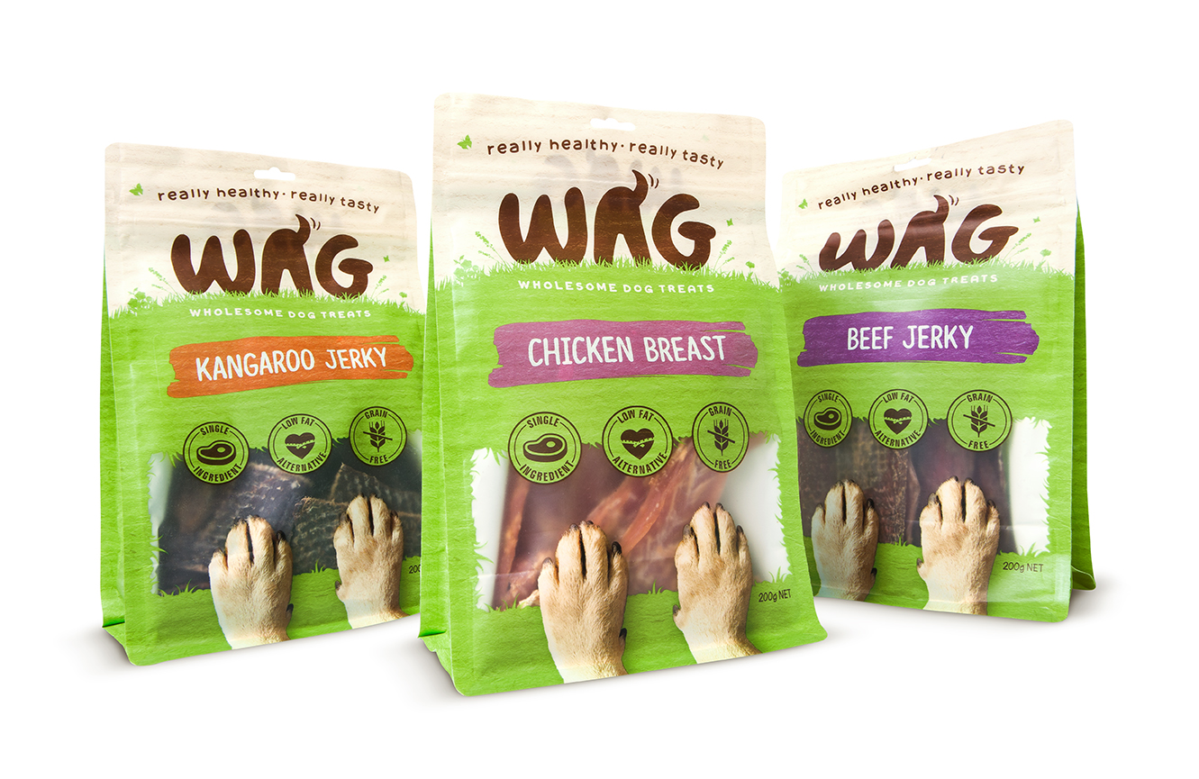 Dog Treats Packaging Design