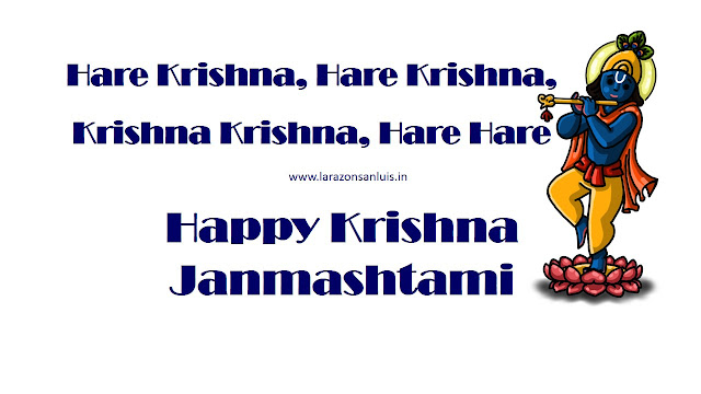 happy krishna janmashtami picture