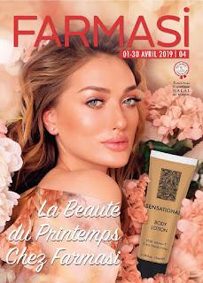 catalogue farmasi maroc avril 2019
