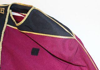 TNG season 1 admiral jacket - gold trim