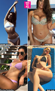 Hottest Celebrity bikini beach bodies