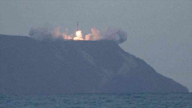 Primer lanzamiento de cohete espacial desde plataforma privada