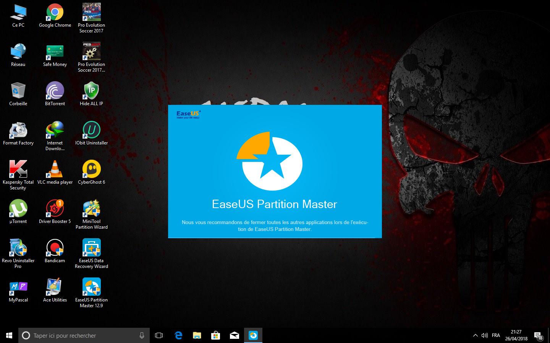 easeus partition master unlimited