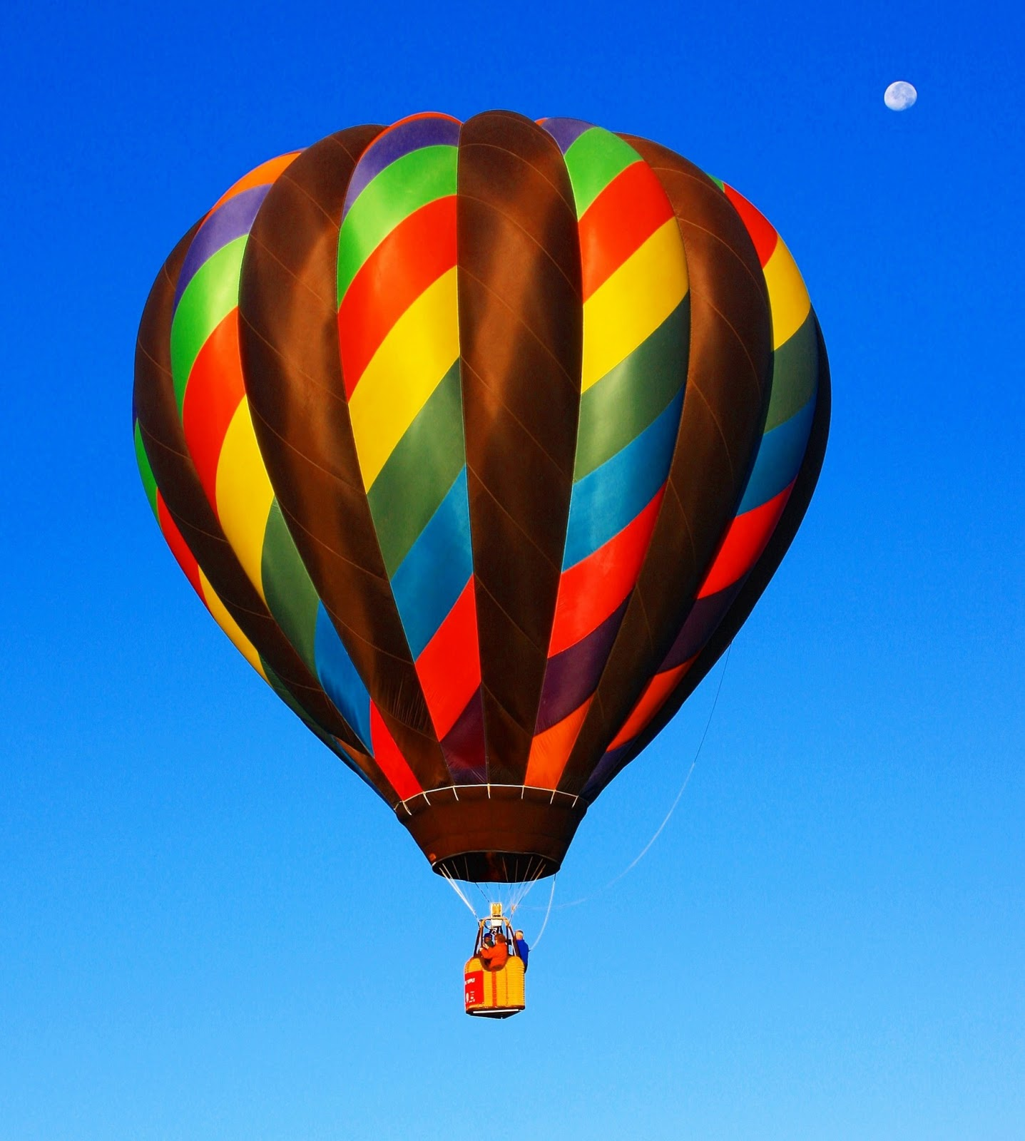 Cool Picture Collection: multi colored hot air balloon