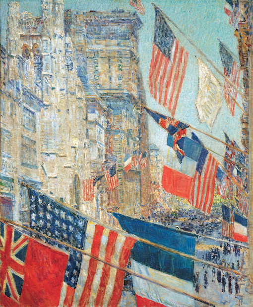 Muddy Colors Childe Hassam - Independence
