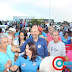 Cláudia realiza a maior caminhada pelas ruas de Porto Seguro
