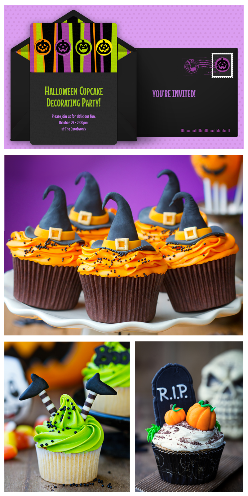 Gorgeous, Free Halloween Invitations from Punchbowl®