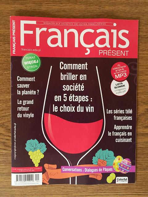 """""""Français Présent 48/2019"""" - okładka numeru """"Français Présent 48/2018"""" - Francuski przy kawie"""