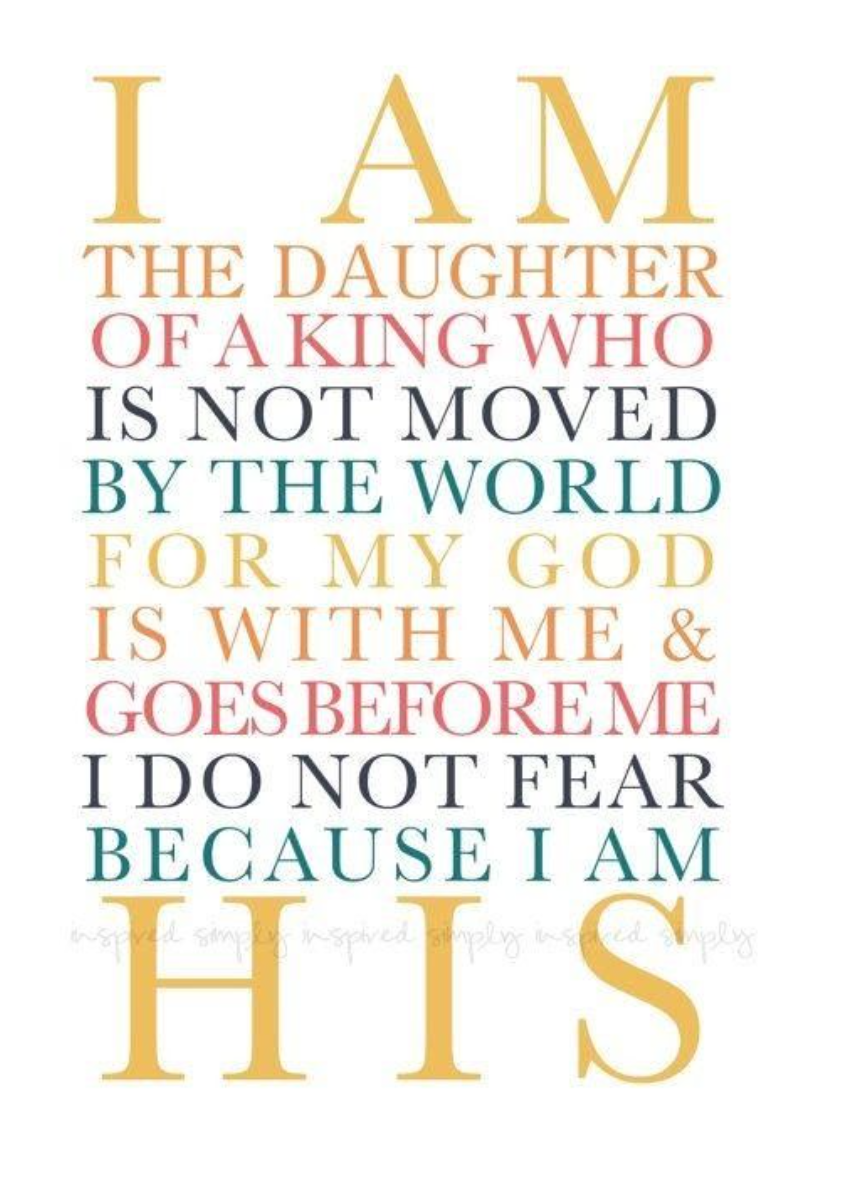 I am the daughter. {Wednesday Words}