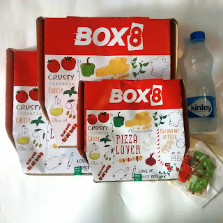 Tickle your taste buds with Box 8 #PizzaPartyWithBox8 #Box8Pizza