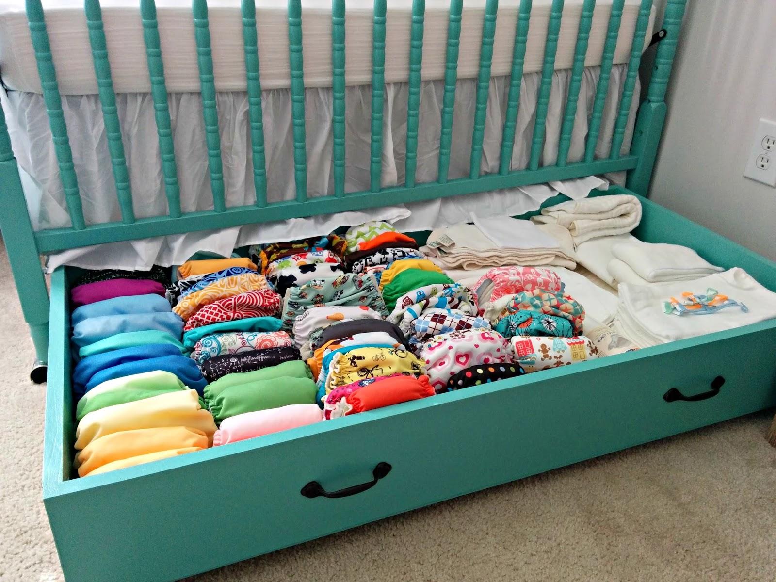 Cloth Diaper Revival Diy Crib Drawer