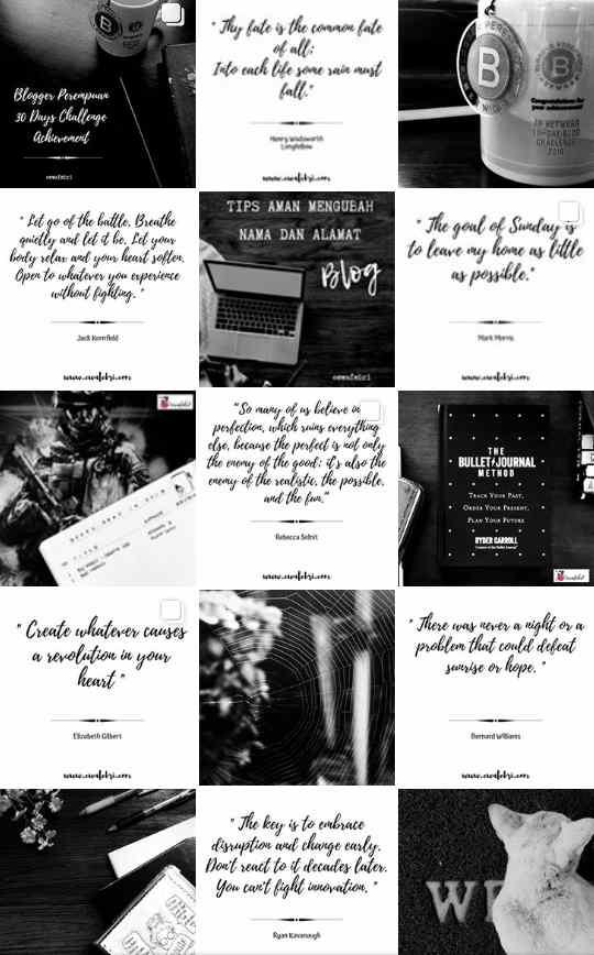 Instagram Feed Keren 2019 by ewafebri