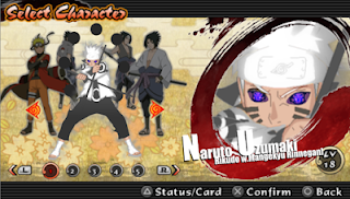 Naruto MOD Texture PPSSPP