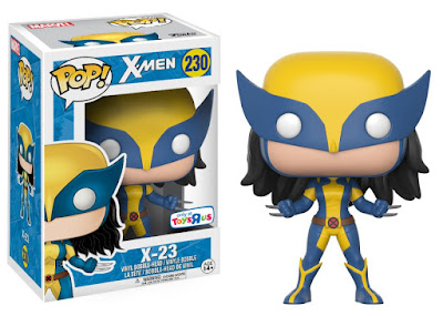 San Diego Comic-Con 2017 Exclusive X-Men X-23 Pop! Marvel Vinyl Figure by Funko x Toys R Us