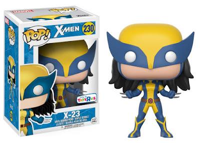 San Diego Comic-Con 2017 Exclusive X-Men X-23 Pop! Marvel Vinyl Figure by Funko x Toys R Us