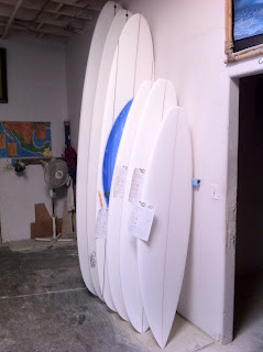 San Clemente lifestyle Surfer Shaper Artist Paul Carter