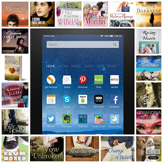 19 Authors participating in a promotional giveaway.
