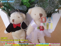 Gantungan Kunci Boneka Beruang