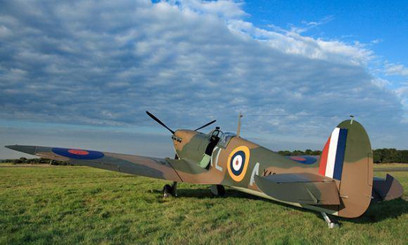 Supermarine Spitfire diproduksi dalam jumlah yang banyak