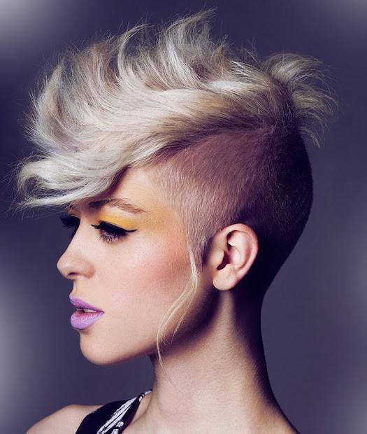 mohawk hairstyles women modern