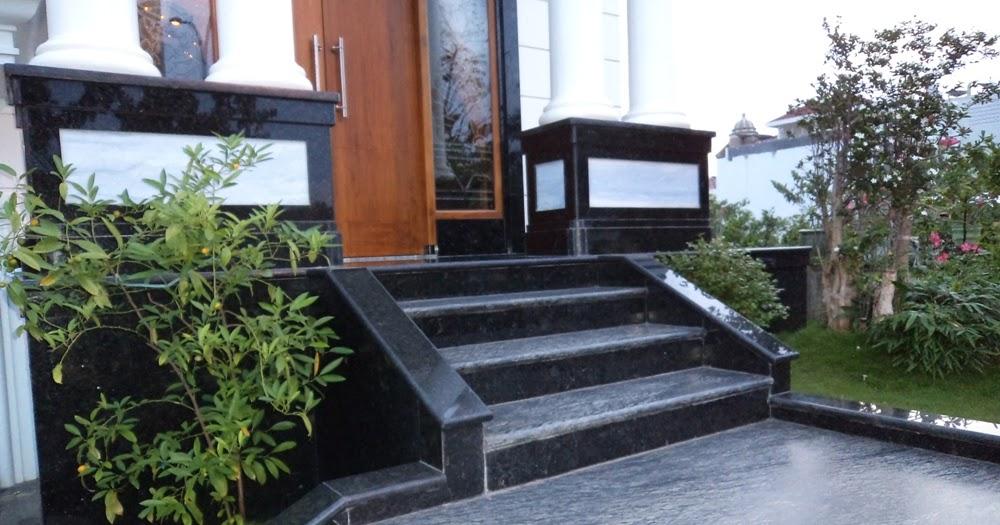 Model Teras Rumah Keren  66 tiang rumah minimalis granit percantik hunian