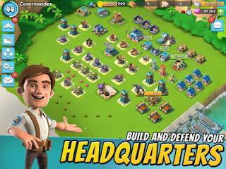 Games Boom Beach Mod Apk v30.104 Terbaru