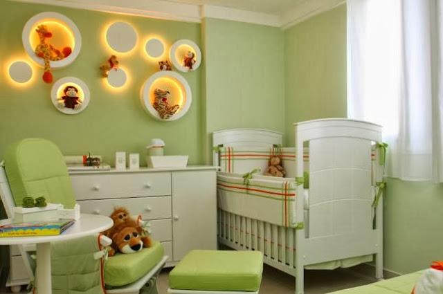 Como Decorar De Dormitorios Para Bebe Diseno Y Decoracion - Decoracin-dormitorio-bebe