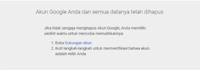Cara Menghapus Akun Google Terbaru