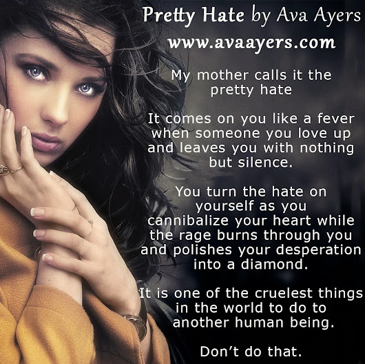 Ava Ayers' New Adult Novel Pretty Hate Free on Amazon
