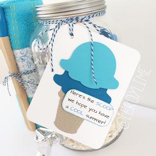 End of Year Teacher Gift - Summer Themed - LeroyLime