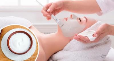 masque à la menthe pour rafraîchir la peau du visage