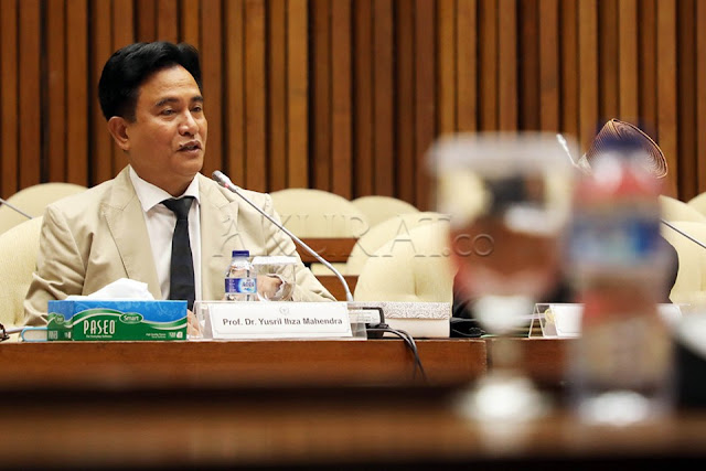 Yusril: Saya Lawyer Profesional, bukan Bagian Timses Jokowi-Ma'ruf