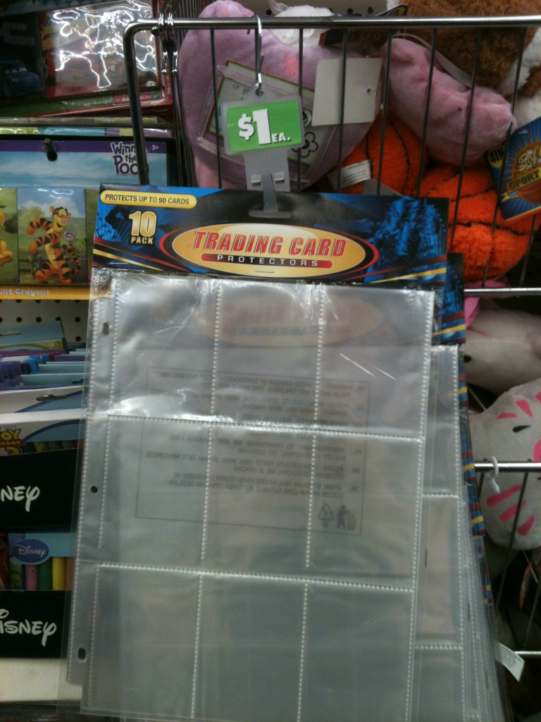 Wendys Deals Baseball Card Sleeves For Coupon Binder