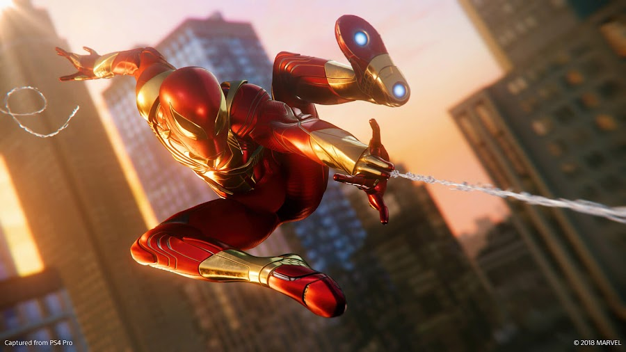 spider man ps4 dlc iron spider suit
