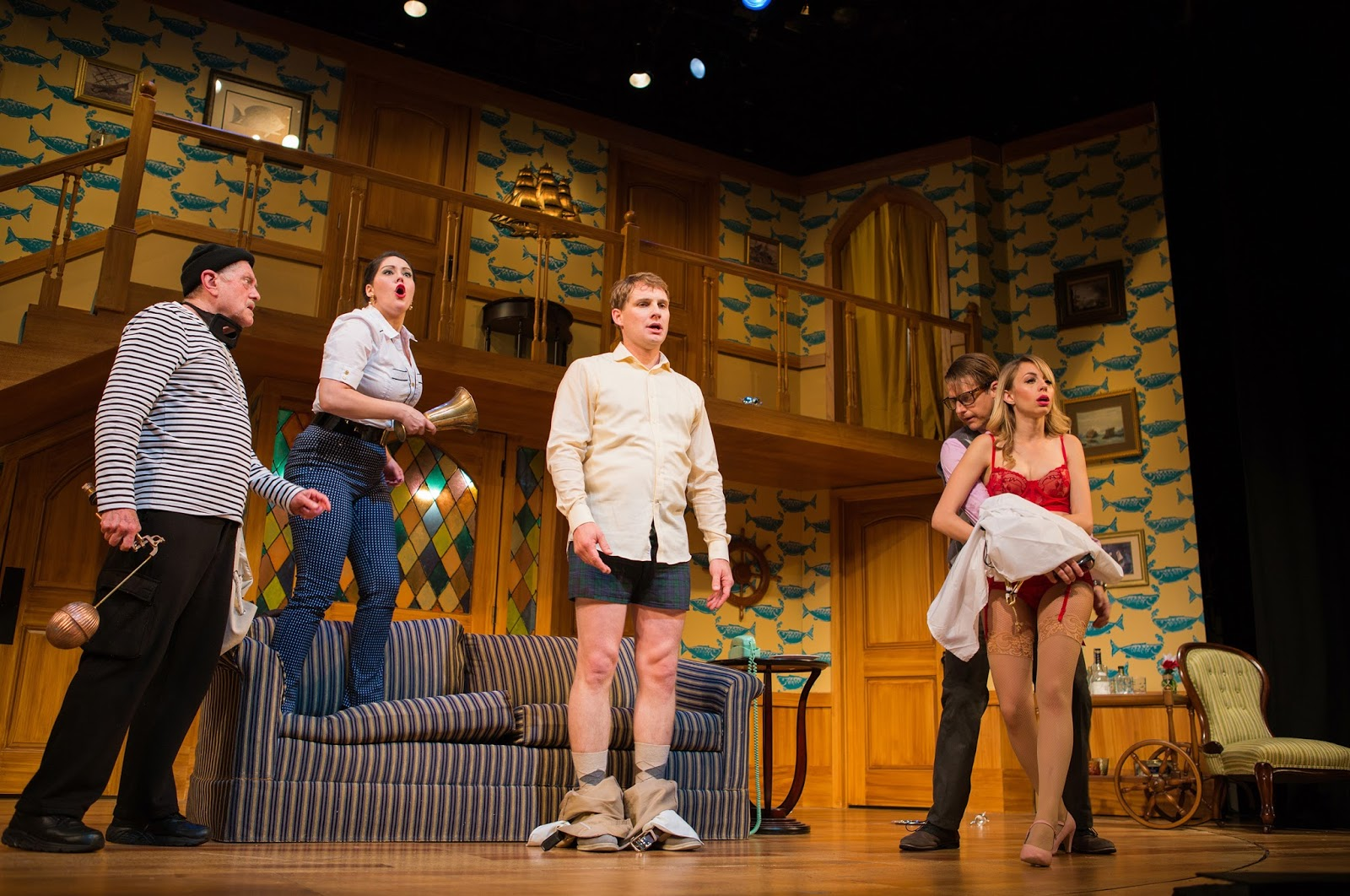 Sf theater blog noises off bang for Farcical plays