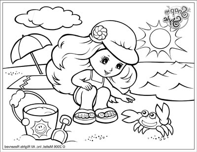 Beach and Ocean Coloring Pages | Summer coloring pages, Summer ... | 309x400