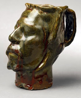 jug in the form of a head gauguin