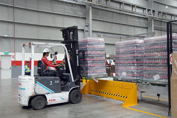 Inauguration de la nouvelle usine Coca-Cola