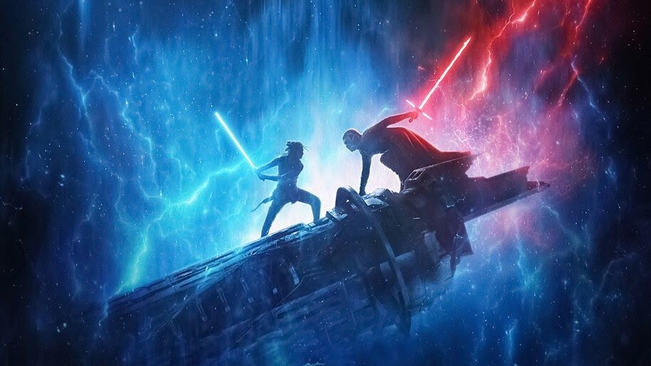 Rey Vs Kylo Ren Star Wars The Rise Of Skywalker 4k Wallpaper