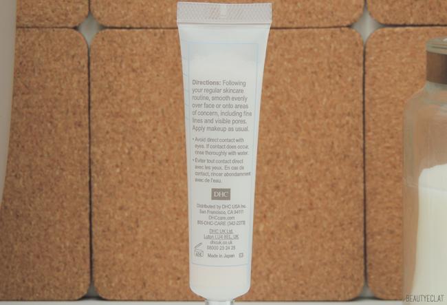 DHC base de teint veloutee velvet skin coat revue