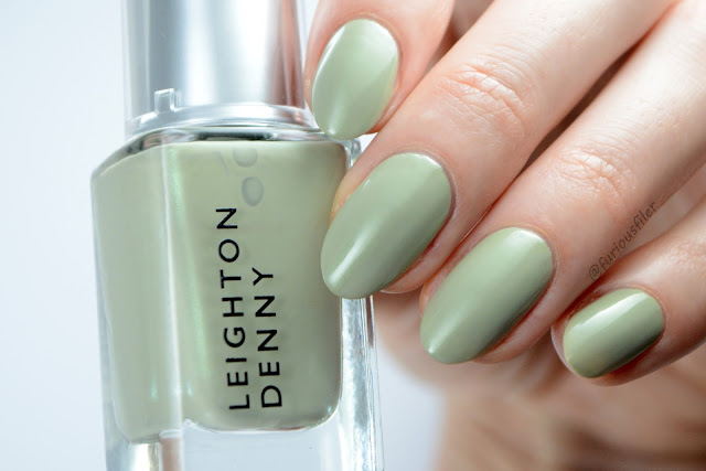 Leighton denny oasis of mint green swatch