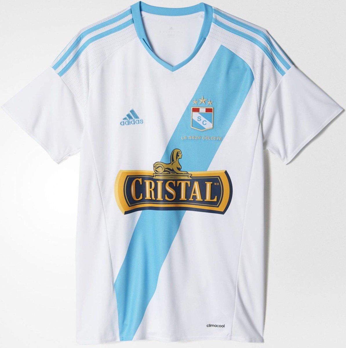 c40433685a Adidas divulga nova camisa reserva do Sporting Cristal - Show de Camisas