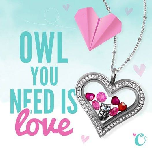 Heart Shaped Locket from Origami Owl | Shop StoriedCharms.com