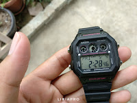 Hands On Jam Casio Standart AE-1300WH-1A2VDF