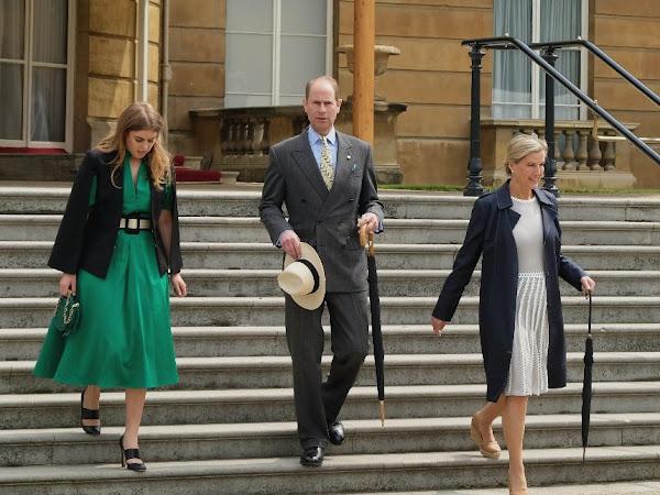 Garden Party w Pałacu Buckingham / Książę William gra w polo + więcej