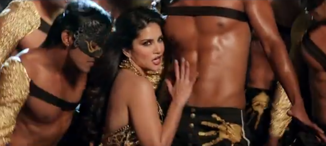 Sunny Leone from the song DO PEG MAAR of ONE NIGHT STAND.